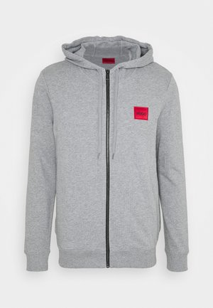 DAPLE - Zip-up hoodie - silver