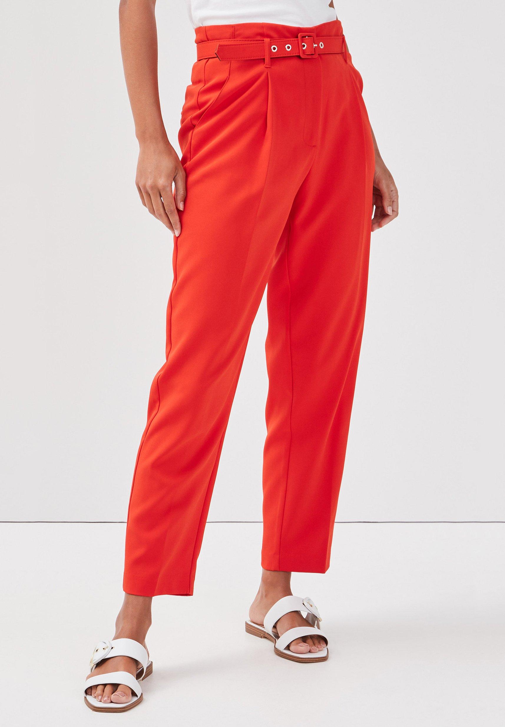 Mujer MIT GÜRTEL - Pantalones