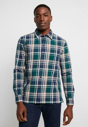 BEWLAY  CHECK - Skjorta - bright emerald