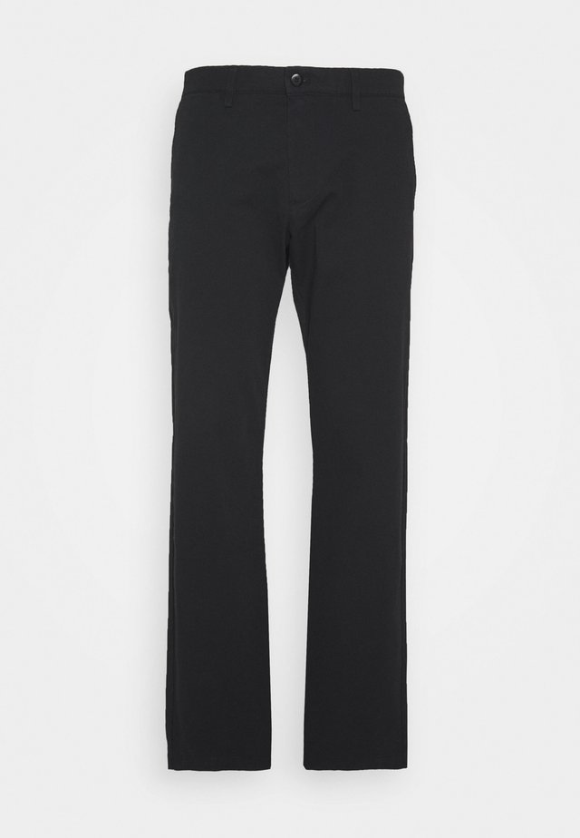 SMART FLEX - Pantalones chinos - black
