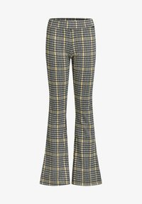 WE Fashion - MET RUITDESSIN - Leggings - Trousers - yellow - 0