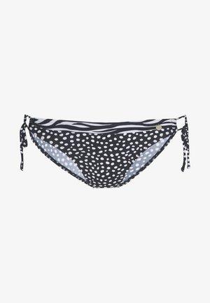 PANT LOOP - Bikinibukser - blac/white