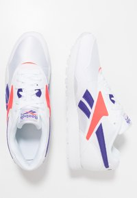 Reebok Classic - RAPIDE - Sneaker low - white/team purple/neon red - 1