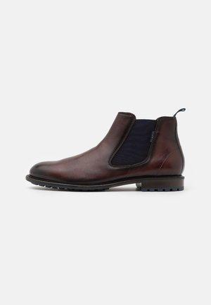 BONIFACIO - Støvletter - mid brown