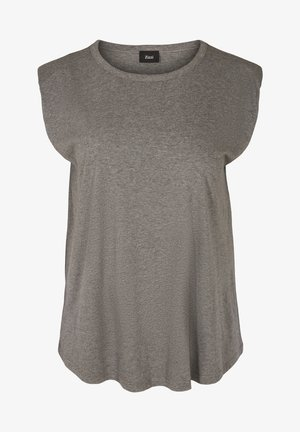 Basic T-shirt - dark grey