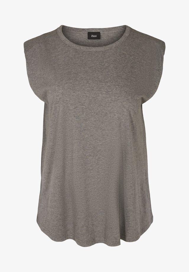 T-shirt basic - dark grey