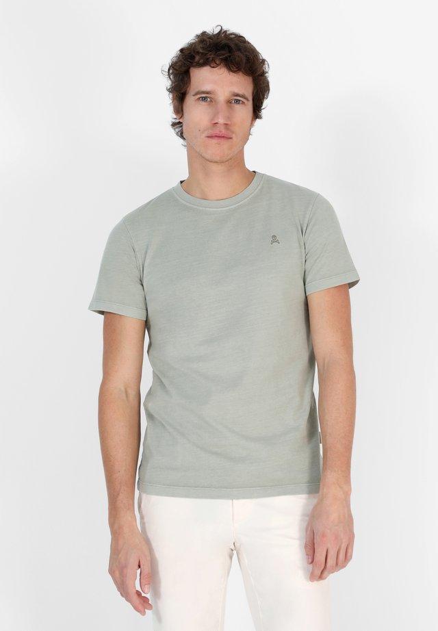 SKULL  - T-shirt basic - light green