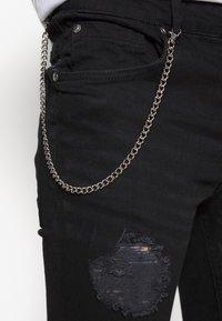 Brave Soul - MJN DROGO - Jeans Skinny Fit - charcoal wash - 5