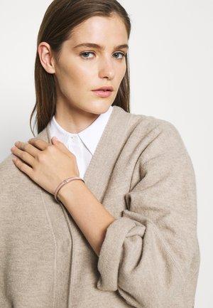 KIRA ENAMEL BRACELET - Bracelet - tory silver-coloured/mauve