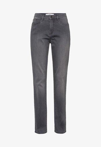 CAROLA - Slim fit jeans - used grey