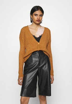 NMLUNA CARDIGAN - Cardigan - brown sugar