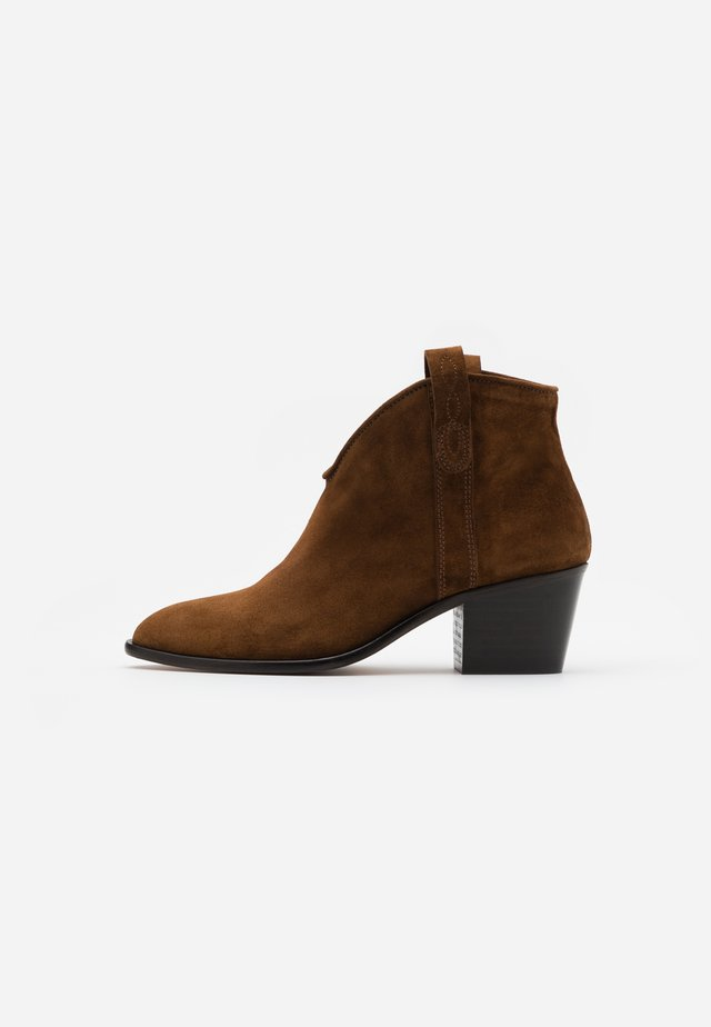 Ankle boots - basket mogano