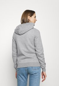 Hollister Co. - TECH CORE - Sudadera con cremallera - grey - 2