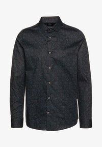 FLORAL DESIGN - Shirt - navy