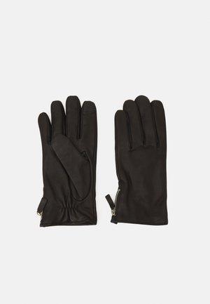 GROUND GLOVES TOUCH - Fingervantar - black