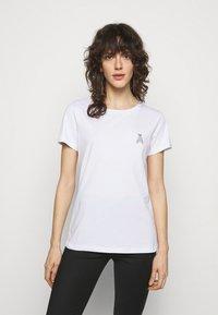 Patrizia Pepe - MAGLIA - T-shirt imprimé - bianco ottico - 0