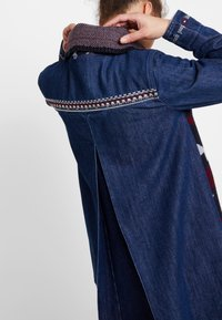 Desigual - CHAQ NAVAI - Manteau court - denim dark blue - 4