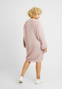 Glamorous Curve - EXCLUSIVE DRESS  - Gebreide jurk - mauve - 3