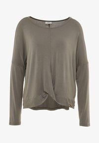 Deha - MANICA LUNGA - Long sleeved top - elephant gray - 3