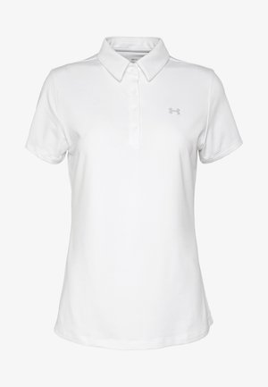 ZINGER SHORT SLEEVE - Sports shirt - white/halo gray