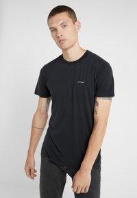 Iro - ETON - Basic T-shirt - black - 0
