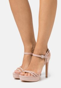 Even&Odd Wide Fit - High heeled sandals - nude - 0