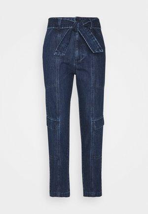 ATHENA UTILITY WAIST PANT - Straight leg jeans - blue sea