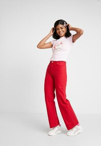 NEW girl ORDER - ZADDY CHRISTMAS - T-shirt med print - pink - 1