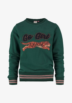 NEVALIE - Sweatshirt - deep green