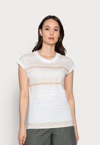 Esprit - Print T-shirt - white - 0
