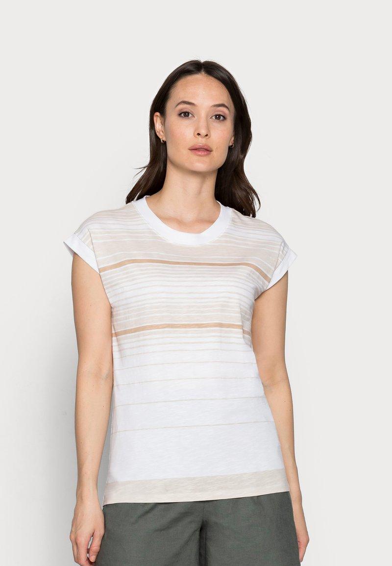 Esprit - Print T-shirt - white