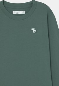 Abercrombie & Fitch - BASICS - Long sleeved top - dark green - 2