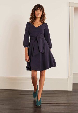 BENEDICTA PONTE  - Day dress - navy