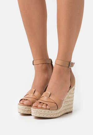 SIVIAN - High heeled sandals - camel