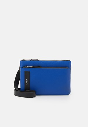 TECHNICAL CROSSBODY POUCH UNISEX - Olkalaukku - bluette