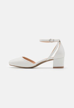 WIDE FIT WICKHAM - Classic heels - white