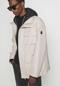 Armani Exchange - CABAN COAT - Winterjas - pure cashmere/black - 6