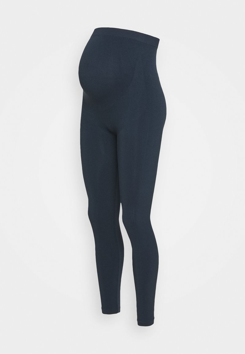 LOVE2WAIT - SEAMLESS - Leggings - Trousers - navy