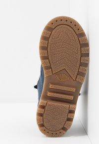 Palladium - HI CUFF WP - Šněrovací kotníkové boty - mood indigo - 5