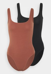 Anna Field - 2 PACK - Body - tan/black