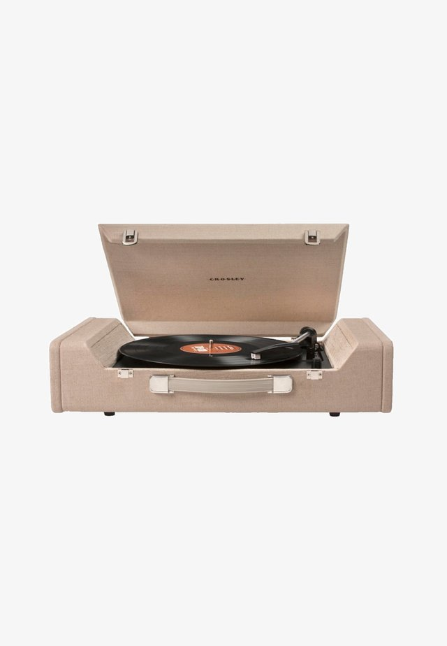 CROSLEY RADIO PLATTENSPIELER  - Record player - brown