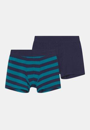 2 PACK - Pants - dark blue/blue