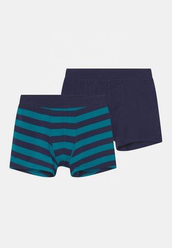 ORGANIC COTTON TEEN 2 PACK - Pants - dark blue/blue