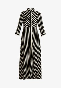 YAS - YASSAVANNA LONG DRESS NEW - Maxi dress - black/creme brulee - 6