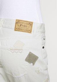Polo Ralph Lauren - DANVERS  - Straight leg jeans - beaded ivory - 3
