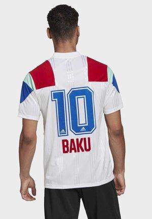 BAKU  - Print T-shirt - white