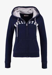 Hollister Co. - CORE - Zip-up hoodie - navy - 5