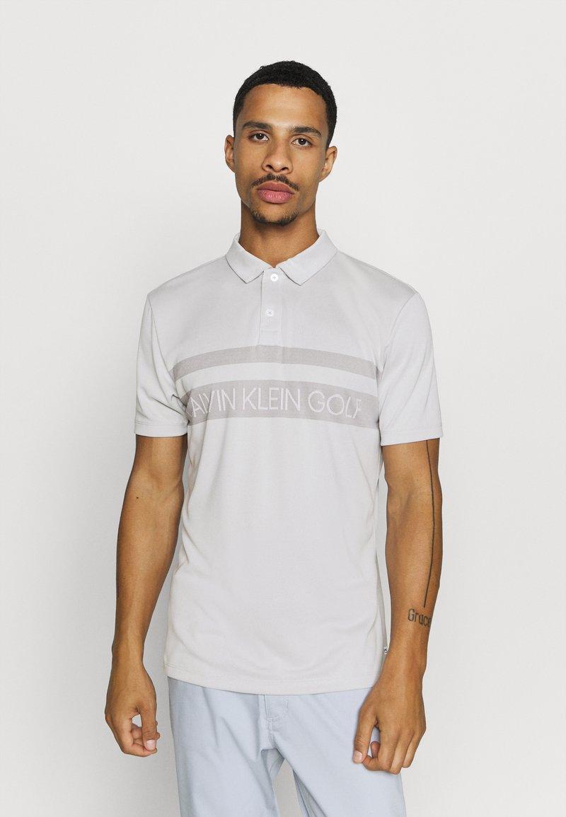 Calvin Klein Golf - TETON - Polo shirt - silver