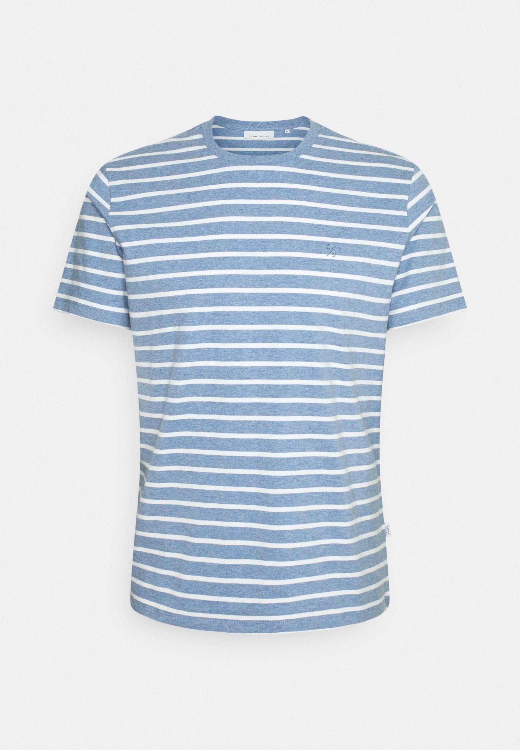 Homme THOR STRIPED - T-shirt imprimé