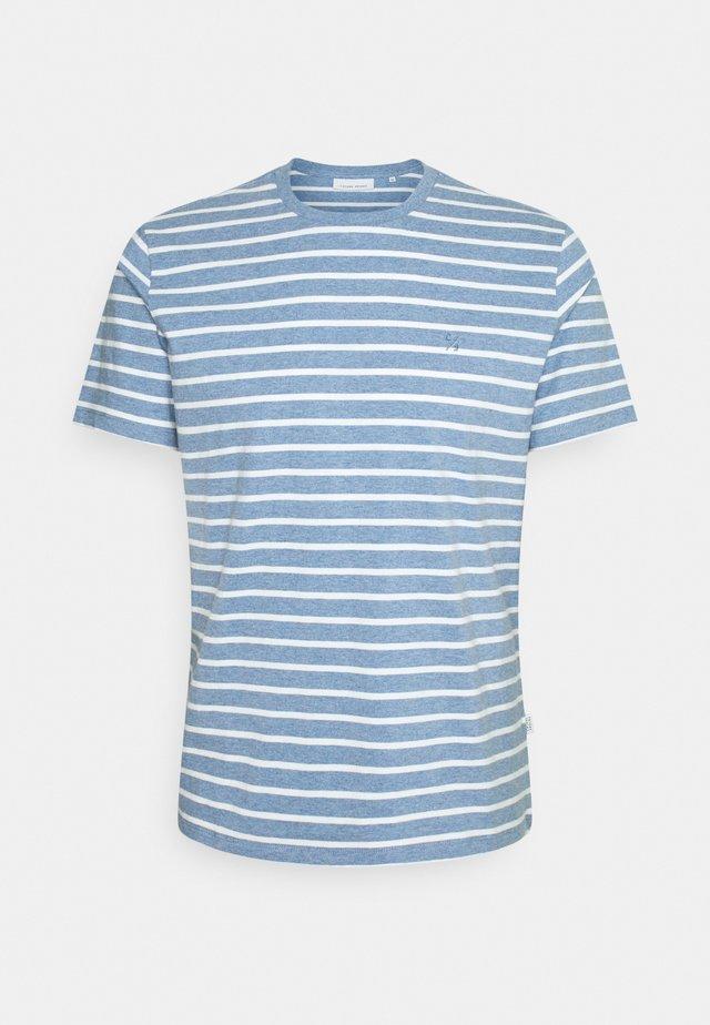 THOR STRIPED - T-shirt print - true navy